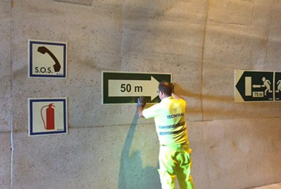 Señalización Tunel Gualchos