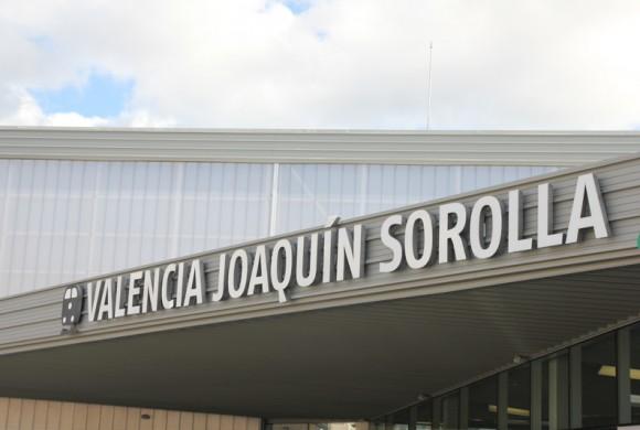 Mejora de la señalética en la estación Joaquín Sorolla de Valencia