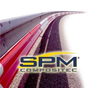 Sistema de protección continua para motociclistas SMP Compositec.