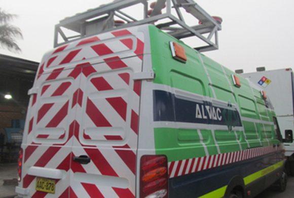 Luminosos para flota de vehículos de conservación