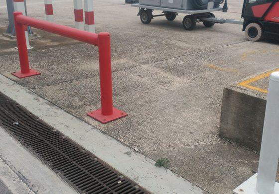 Balizamiento de reconocimiento de zona segura
