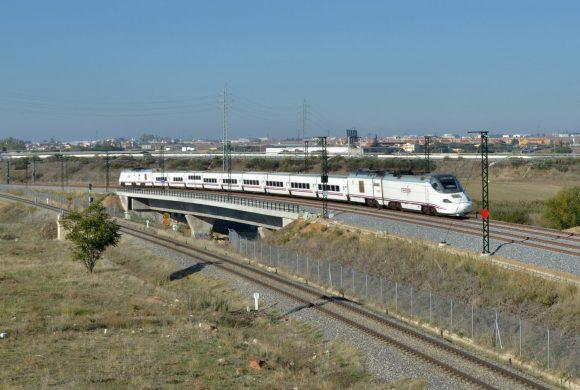 Suministro de señales de cambio de velocidad en ferrocarril