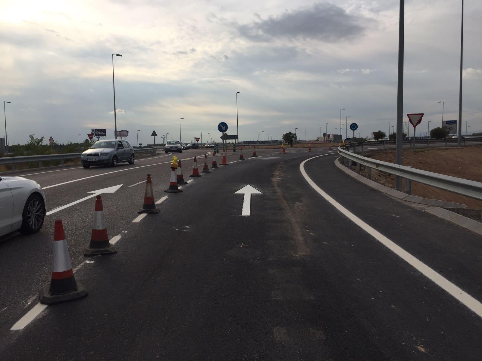 Adecuación del segundo carril de acceso a  la autovía A-2 entre Meco y Los Santos de la Humosa