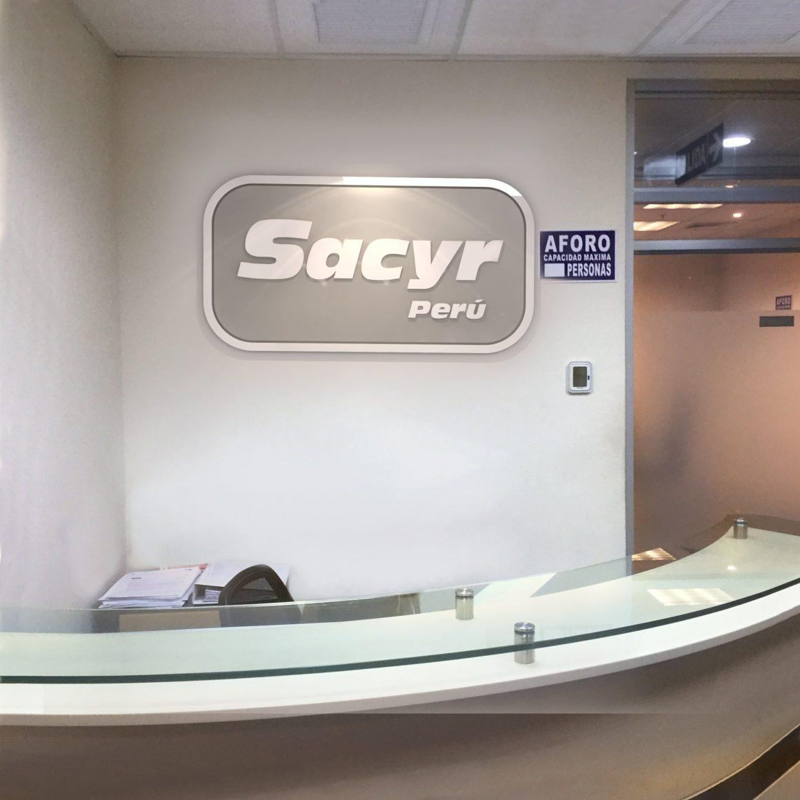 Renovación de la imagen corporativa de SACYR PERÚ