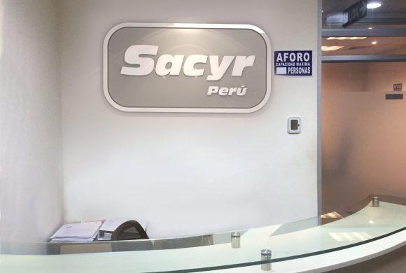 """"""" SACYR PERÚ confía en Tecnivial para renovar su imagen corporativa"""""""