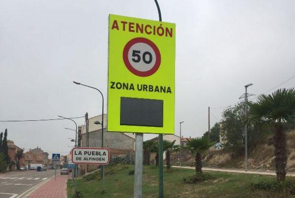 Suministro e instalación de un radar de velocidad en Zaragoza