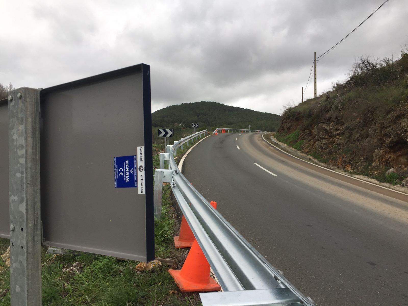Sustitución de sistemas de contención en Ibiza
