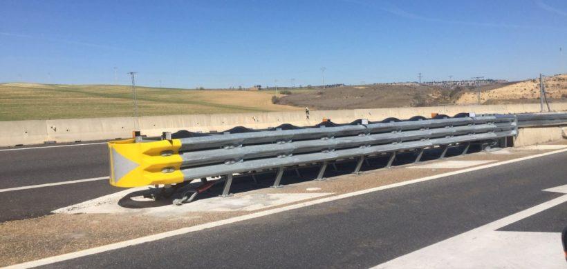 Reparación de atenuador de impactos en Valladolid