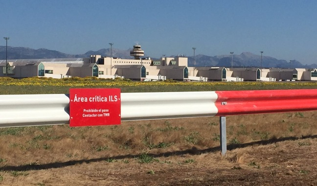 Zonas ILS en el aeropuerto de Palma de Mallorca