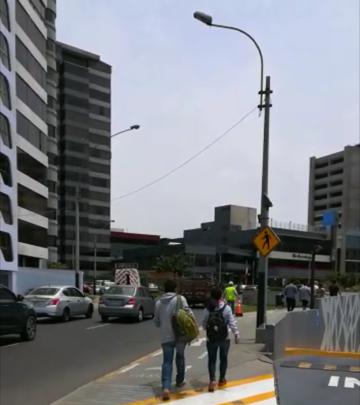 Lima ya cuenta con señales LED con sensor de presencia para prevenir atropellos