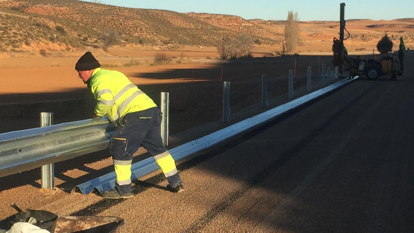 Sistema de contención en Aragón