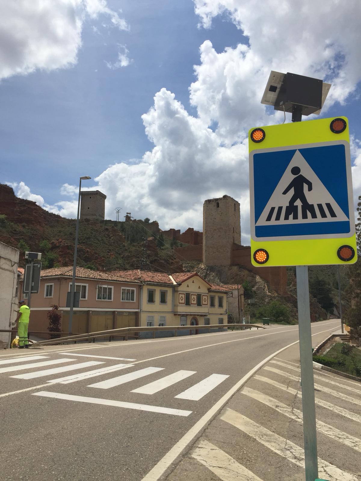 Equipamiento para paso de peatones