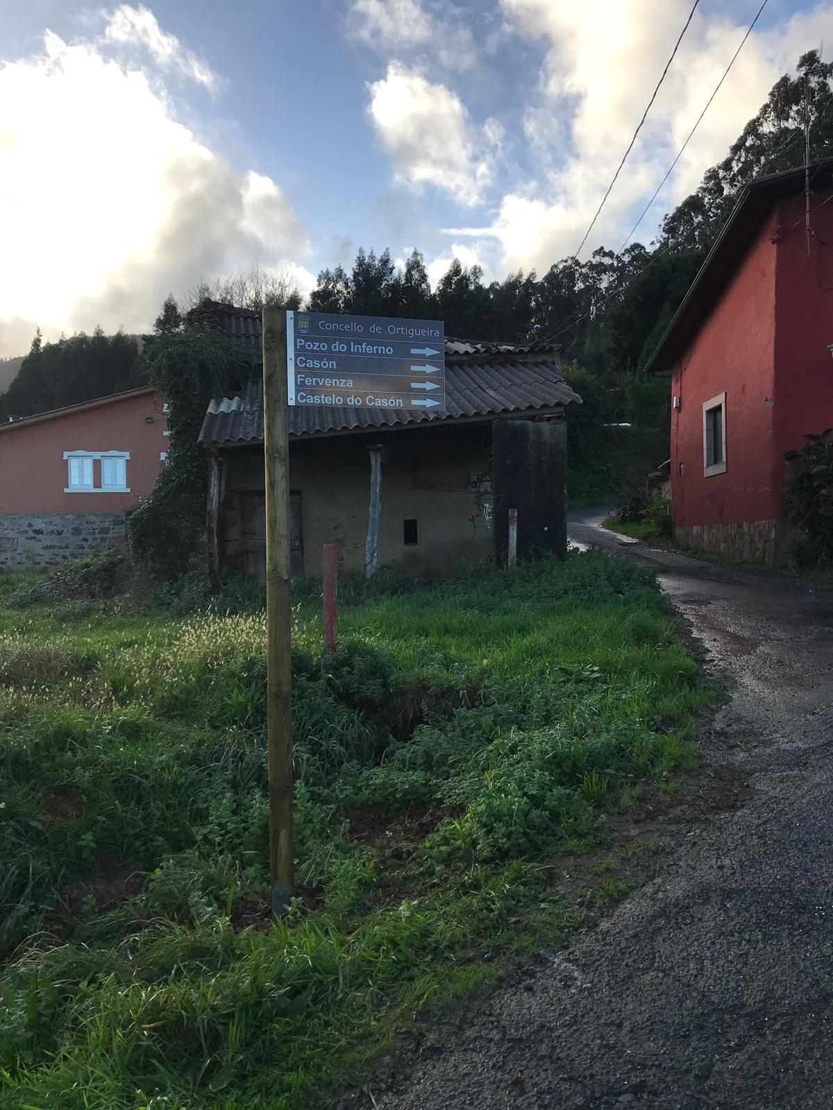 Señalización turística en Galicia