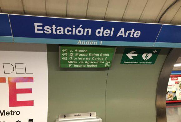 Tecnivial realiza el cambio de denominación de varias estaciones de metro
