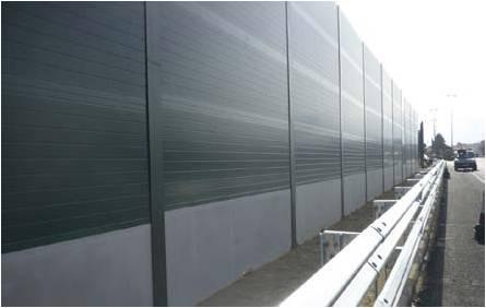 Inicio de la instalación de pantallas acústicas en Azuqueca