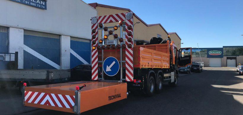 TMA Atenuador de Impactos Julietta Max 100 es la opción más idónea y adecuada a normativa actual para las vías rápidas españolas.