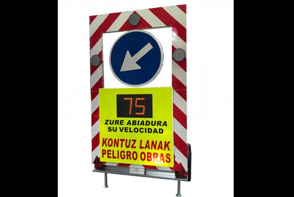 Recomendación del uso de Avisadores de Velocidad en zonas de obras
