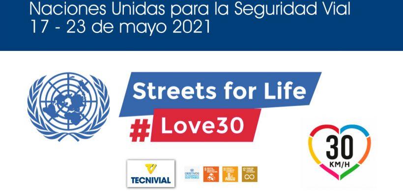 6ª Semana Mundial de la Seguridad Vial 17-23 mayo 2021