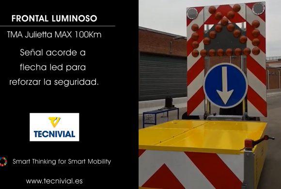 TMA Julietta Max 100Km/h | Fácil instalación del Atenuador y frontal luminoso para mayor visibilidad